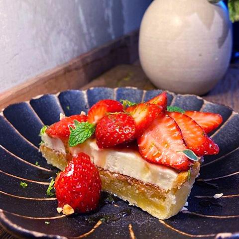 2020花蓮草莓系甜品-Caffe Fiore 珈琲花-草莓塔