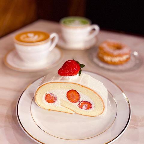 2020花蓮草莓系甜品-昭和58-馬斯卡彭草莓蛋糕捲