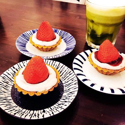 2020花蓮草莓系甜品-歪歪歪甜點-草莓塔
