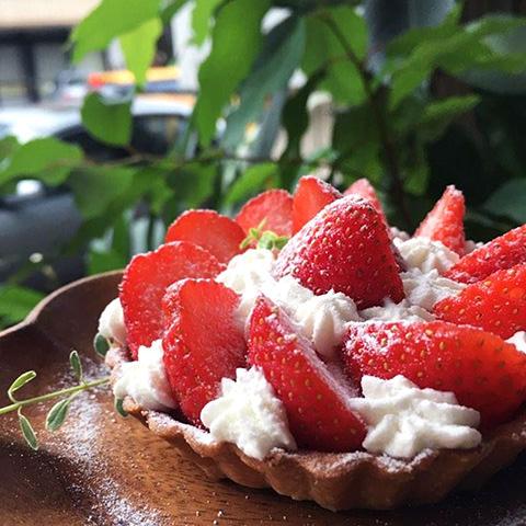 2020花蓮草莓系甜品-安安咖啡-草莓塔